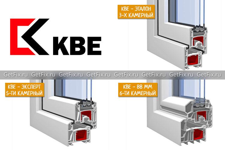 ПВХ профиль - KBE