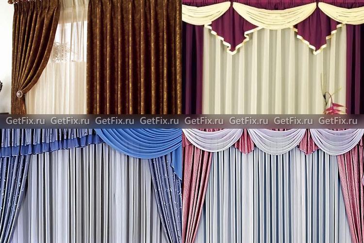 Шьем шторы для залы своими руками 1