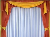 Шьем шторы в комнату своими руками