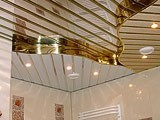 Алюминиевые реечные потолки - блестящее решение