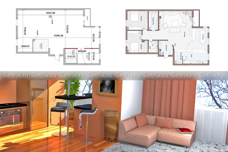 Перепланировка квартиры - с чего начать