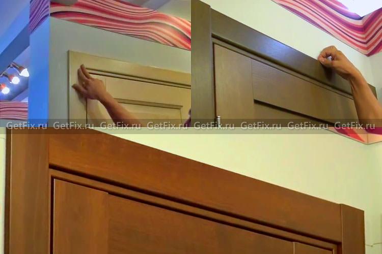 Варианты дверного наличника